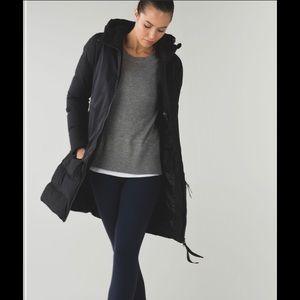 Lululemon cold as fluff jacket *SubZero black NWOT
